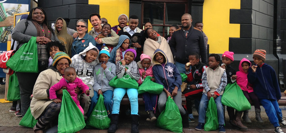 HOKISA and Cape Town Big 6 Celebrate Mandela Day