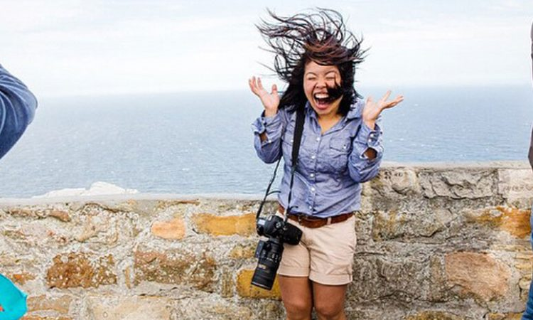 Embracing the Wind at Cape Point