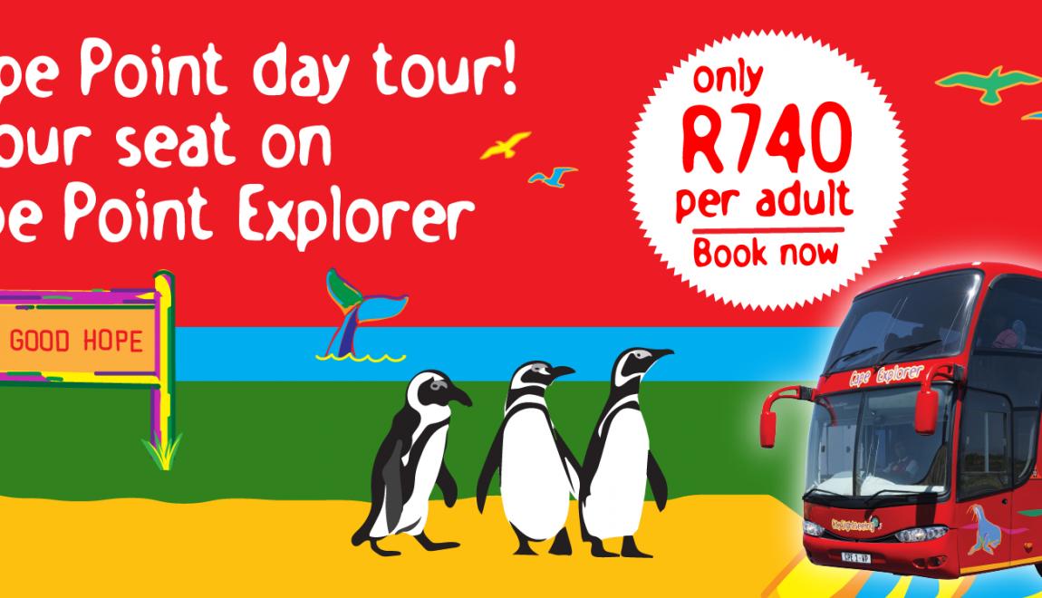 Cape Point Explorer route reminder