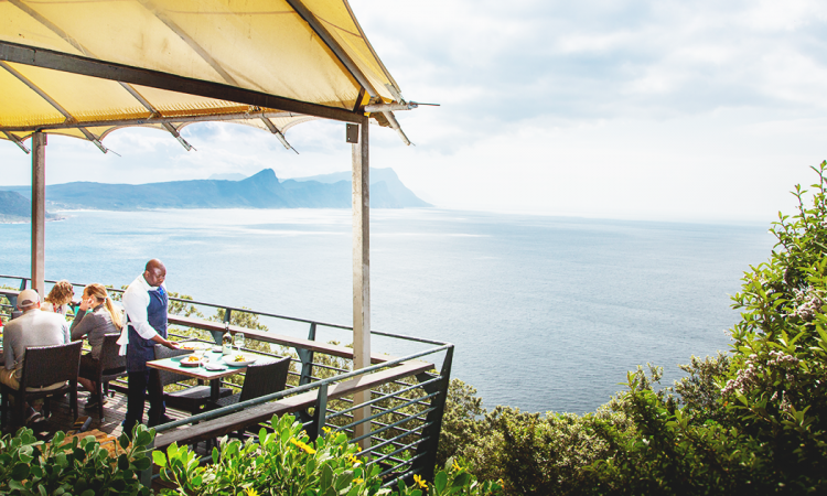 The Two Oceans restaurant, Cape Point
