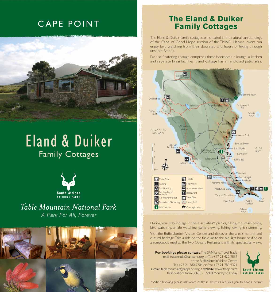 Accommodation Cape Point
