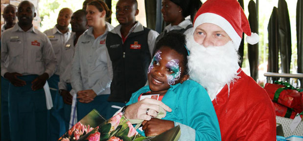 Cape Point celebrates Christmas with HOKISA children