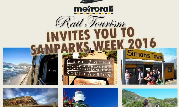 SANParks week Metrorail / Cape Point transport deal