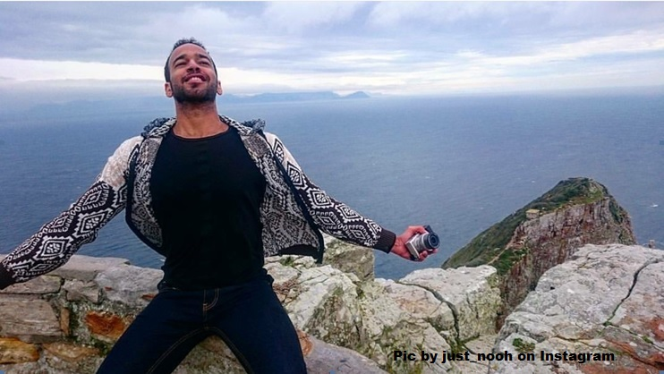 Pose of the month at Cape Point