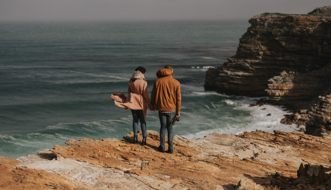 Ms Paula Bee and Lorenzo get engaged at Cape Point!