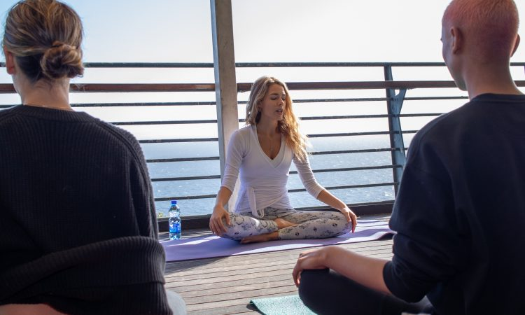Cape Point #BeTheFirst yoga and breakfast experience