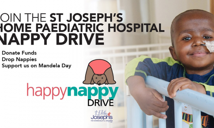 St Josephs Home for Children Mandela Day July 2019 Happy Nappy Drive
