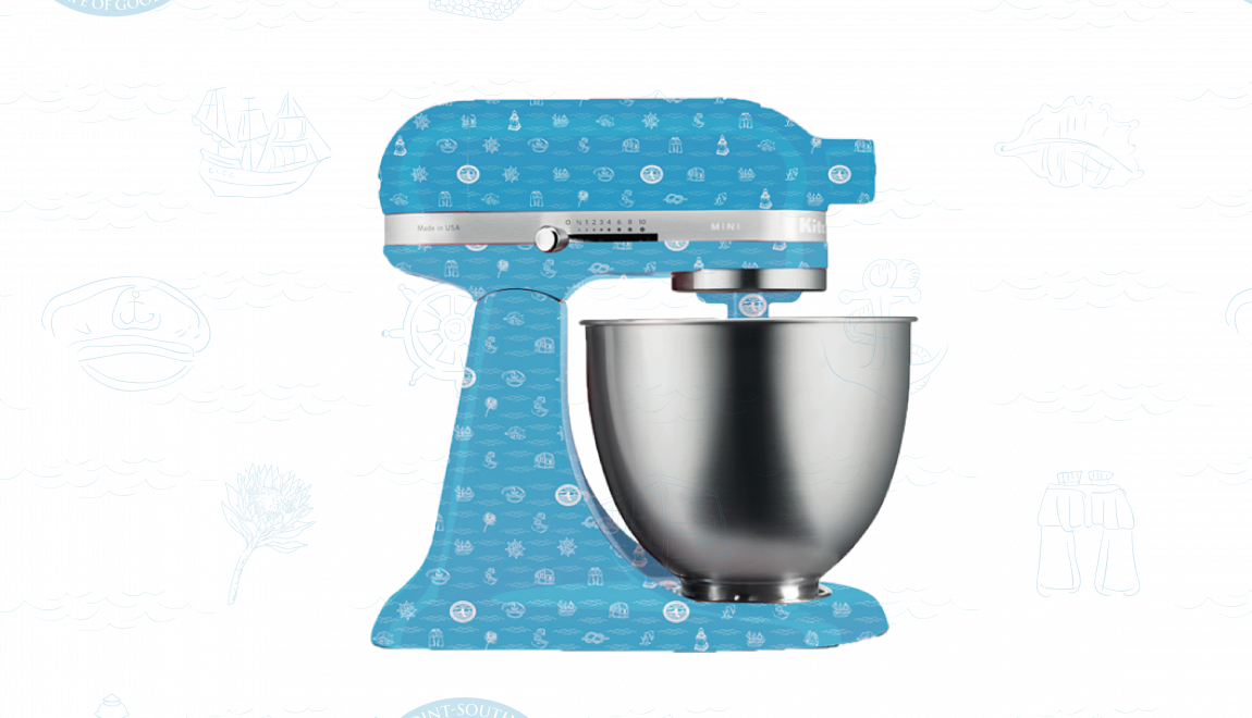 Custom Cape Point KitchenAid mixer competition winner!