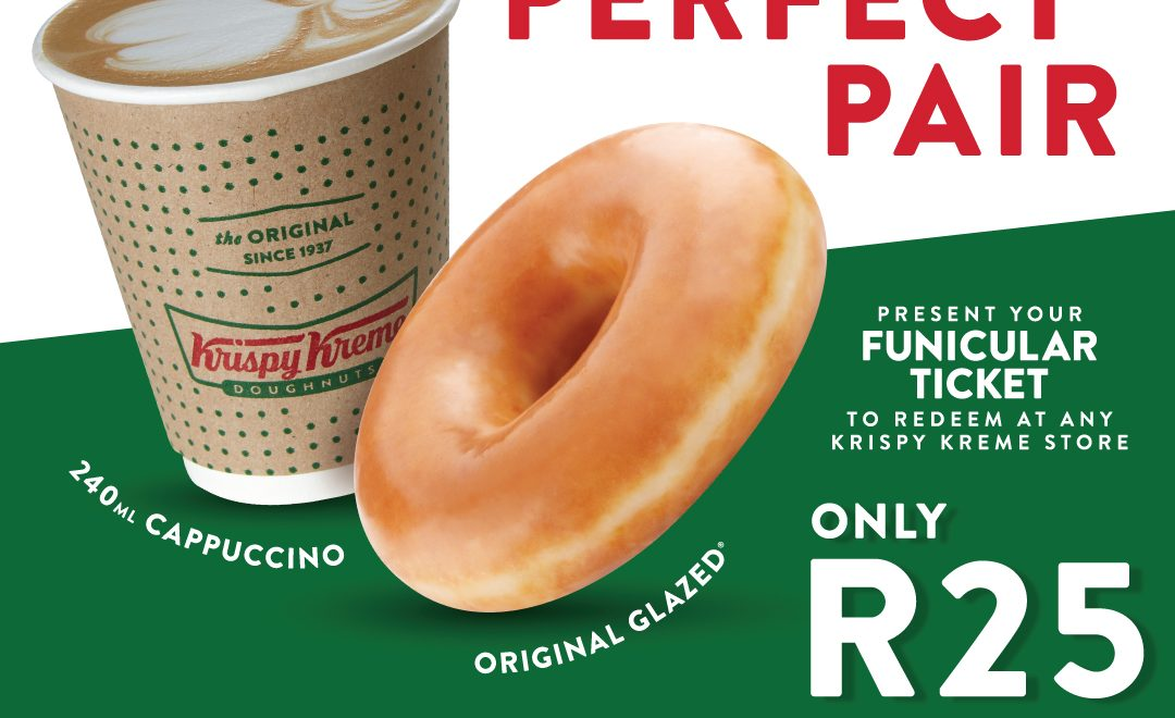 Join Krispy Kreme x Cape Point for the Perfect Pair!